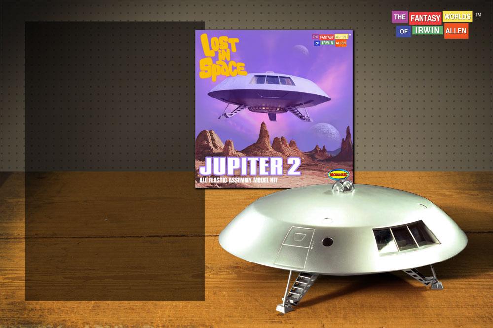 Moebius Models - Lost in Space Jupiter 2